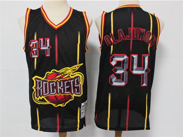 Houston Rockets #34 Hakeem Olajuwon Rings Collection ...