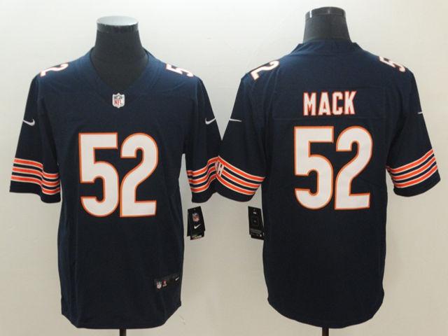 Chicago Bears #52 Khalil Mack Blue Vapor Untouchable ...